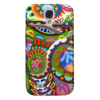 Funky Abstract Samsung Galaxy S4 Covers