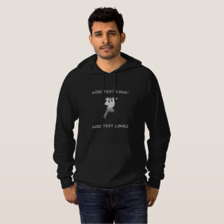 Funky Add Text Boarding Skater Sweater