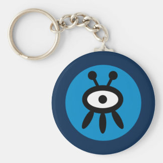 Funky Alien Character Keychain