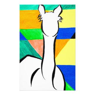 Funky Alpaca Customized Stationery