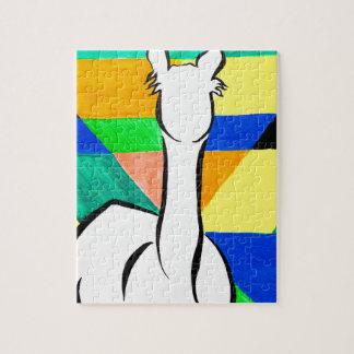 Funky Alpaca Jigsaw Puzzle