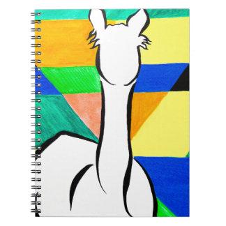 Funky Alpaca Notebooks