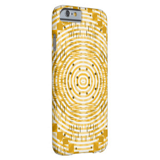 Funky and golden barely there iPhone 6 case