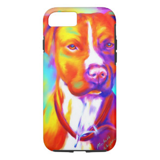 Funky Angel - Pitbull iPhone 8/7 Case