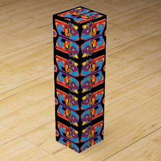 funky art deco wine box