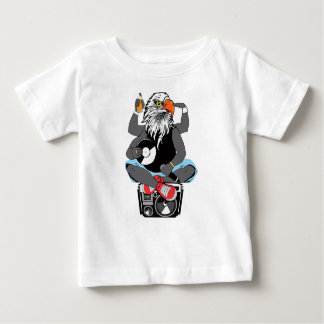 Funky Bald Eagle Baby T-Shirt
