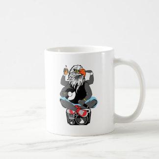 Funky Bald Eagle Coffee Mug