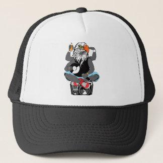 Funky Bald Eagle Trucker Hat