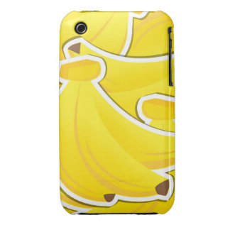 Funky bananas Case-Mate iPhone 3 cases