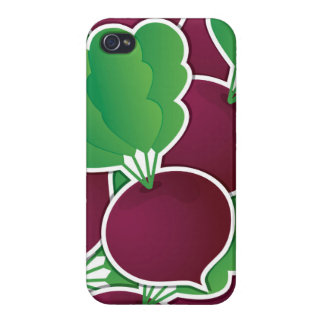 Funky beet covers for iPhone 4
