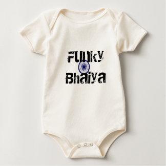 Funky Bhaiya Baby Bodysuit