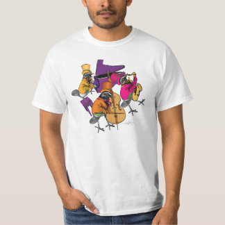 Funky Birds Rocking T-Shirt