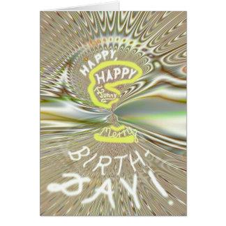 Funky-birthday card