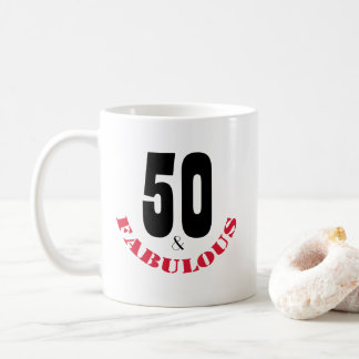 Funky Birthday Gift Mug for the 50 Year Old
