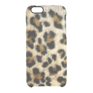 Funky Black Leopard Spots Uncommon iPhone 6/6 Case