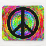 Funky Black Peace Sign