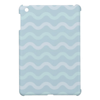 Funky BLUE Waves Cover For The iPad Mini