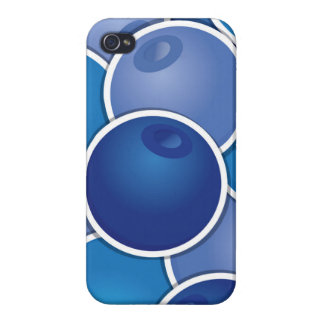 Funky blueberry iPhone 4 cover