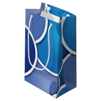 Funky blueberry small gift bag