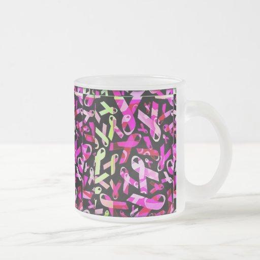 Funky Breast Cancer Ribbons Mug