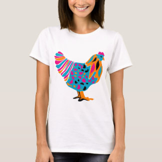 Funky Bright Chicken T-Shirt