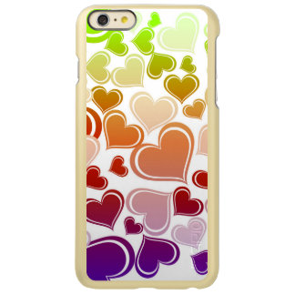 Funky Bright Hearts Pattern