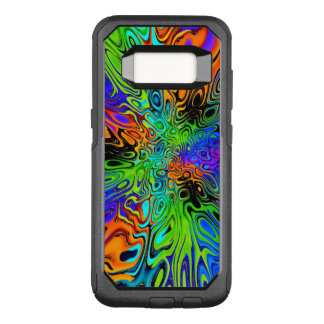 Funky Bright Psychedelic OtterBox Commuter Samsung Galaxy S8 Case