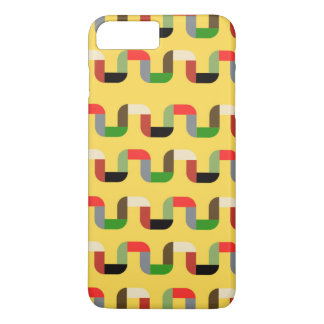 Funky Bright Ribbon Pattern iPhone Case