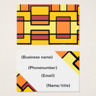 Funky business card