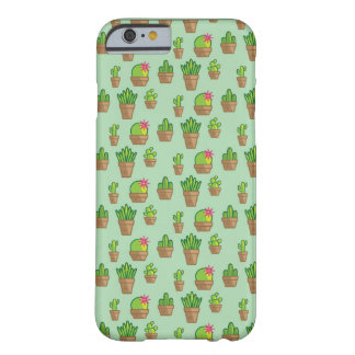 Funky Cactus Barely There iPhone 6 Case