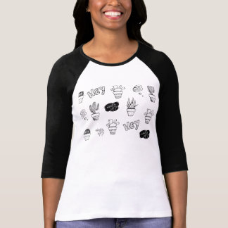 Funky cactus pattern T-Shirt
