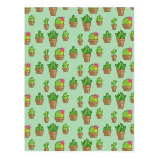 Funky Cactus Postcard