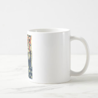 Funky Cat Abstract Coffee Mug