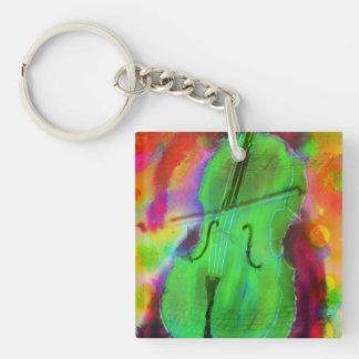 Funky Cello Key Chain