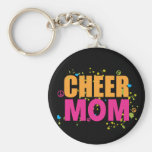 Funky Cheer Mum Keychain