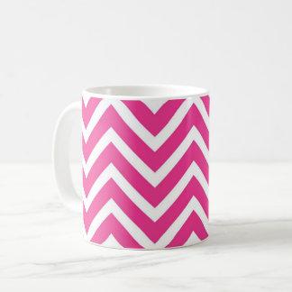 Funky chevron coffee mug