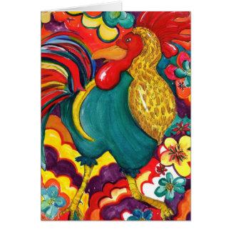 Funky Chicken Card