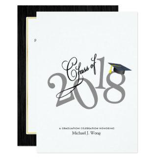 Funky Class of 2018 Graduation Card