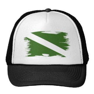 Funky Colored Dive Flag Hats