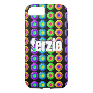 Funky Colorful 3D Circles iPhone 7 Case