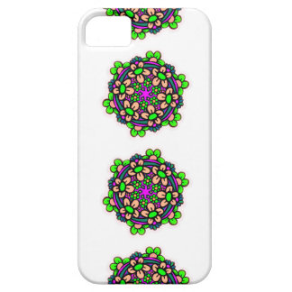 funky colorful flower hippie phone case