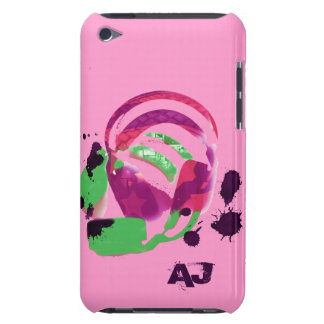 funky colorful headphones iPod touch cover
