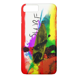Funky colorful Tropical Iphone 7 plus case