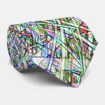 Funky Colour Striped Tie