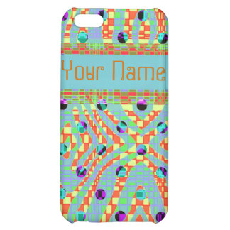 Funky, colourful, retro Iphone4/4s case Cover For iPhone 5C