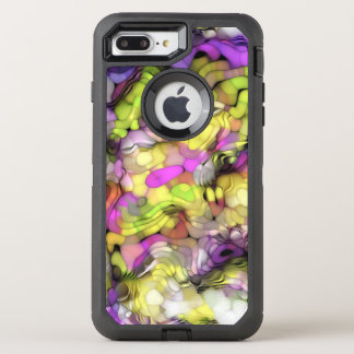 Funky Cool Colorful Abstract Paint Splash Pattern OtterBox Defender iPhone 8 Plus/7 Plus Case