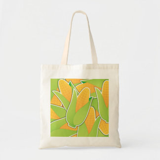 Funky corn tote bag