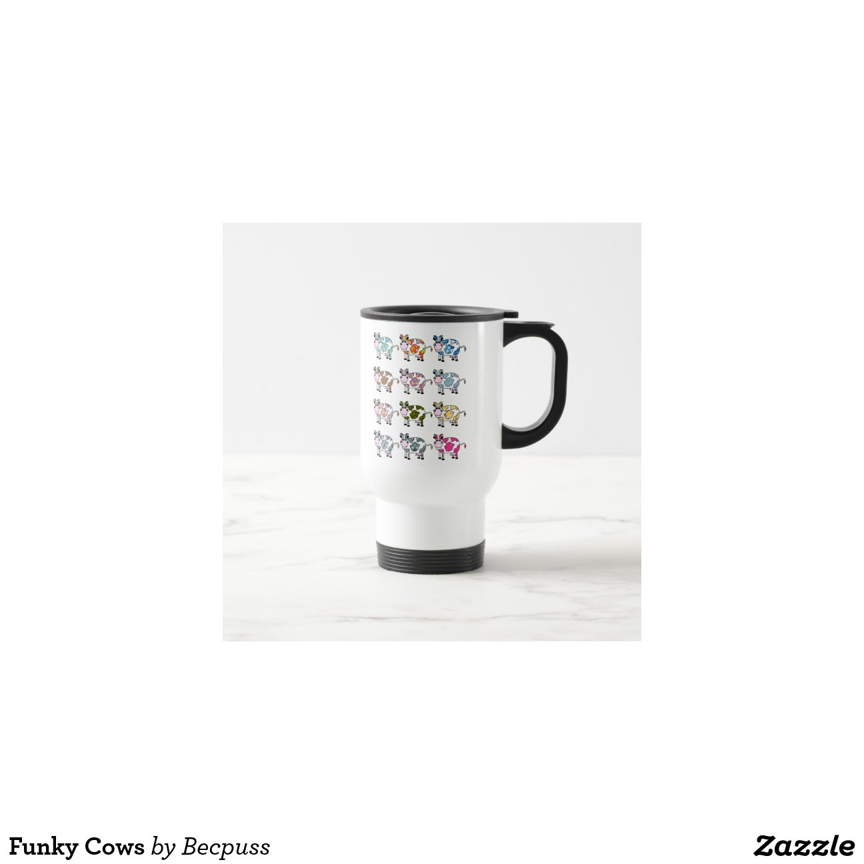 Funky cows coffee mugs zazzle - Funky espresso cups ...