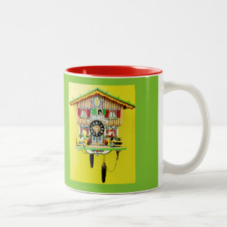 Funky Cuckoo Clock Mug to Cheer You