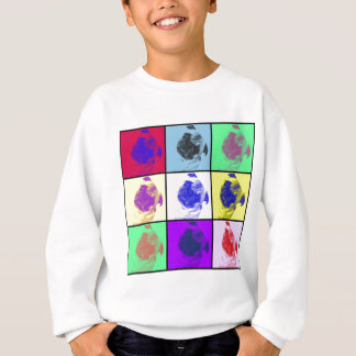 Funky Cute Pug Sweatshirt